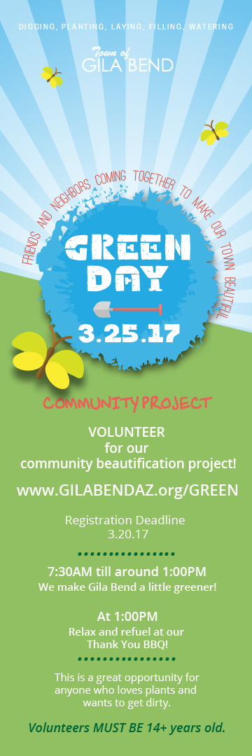 Green Day Beautification Project
