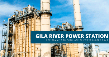 SRP-power plant purchase of 2 blocks