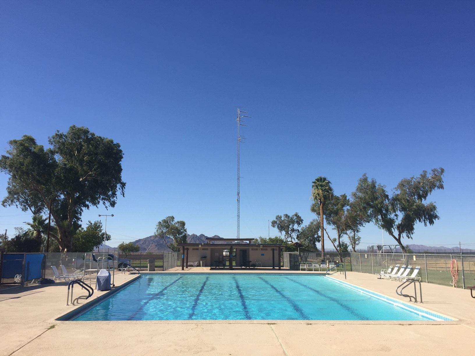 Community Pool at Burleson Park, Gila Bend