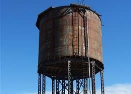 Southern Pacific Water Tower Gila Bend