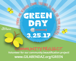 Green Day Beautification Project for Volunteers on March 25